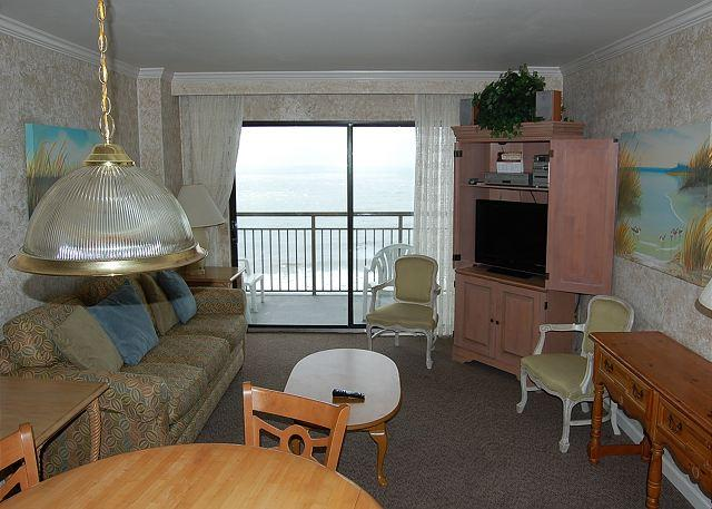 Bluewater 801-Upgraded 2 Bedroom Ocean Front unit with a fantastic view - Image 1 - Myrtle Beach - rentals