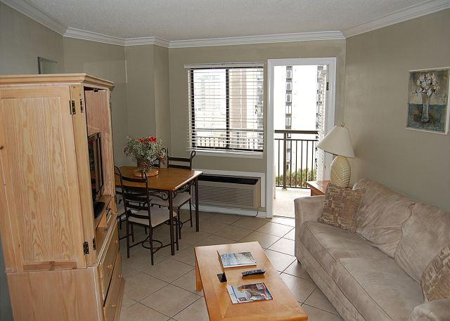Bluewater 817-Nice1 Bdrm  Angle Ocean view unit with a scenic view - Image 1 - Myrtle Beach - rentals