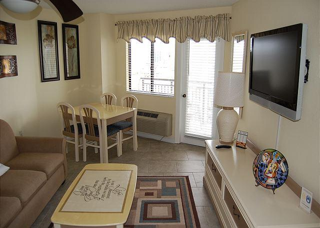 Bluewater 1009- Updated 1 Bedroom  Angle ocean view unit with a scenic view - Image 1 - Myrtle Beach - rentals