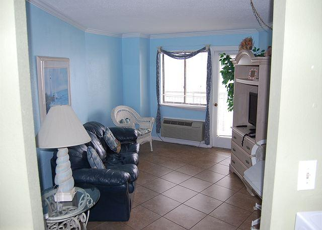 Bluewater 1010- Upgraded 1 Bedroom  Angle unit with an ocean view - Image 1 - Myrtle Beach - rentals