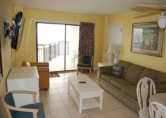 Bluewater 1002A- 2 Bdrm Ocean Front unit with a fantastic view - Image 1 - Myrtle Beach - rentals