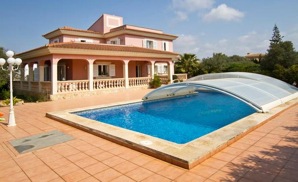 Holiday house with sea view with pool, for  8 people in a quiet place  - ES-1078013-Llucmajor - Image 1 - Llucmajor - rentals