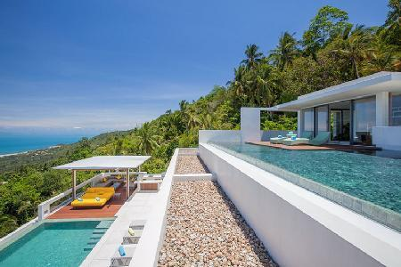 Lime Samui 2 Villa Offering Gorgeous Panoramic Views, Private Pool and Gym - Image 1 - Nathon - rentals