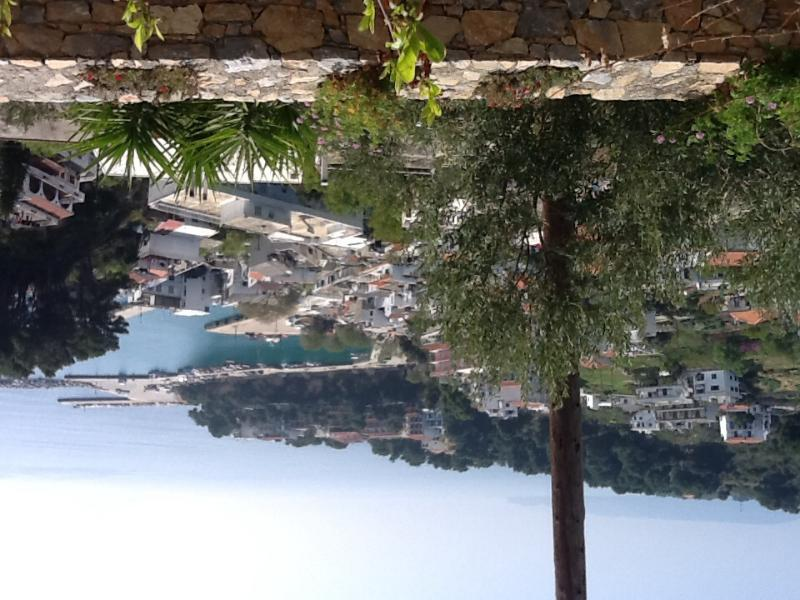 View from the terrace of the harbour - House with incredible views - Patitiri - rentals