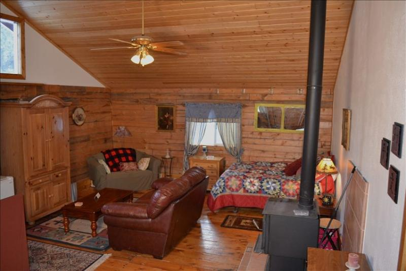 Full cabin area - Red Paws Ranch Guest Cabin, a Cozy and Peaceful Place to Stay - Pagosa Springs - rentals