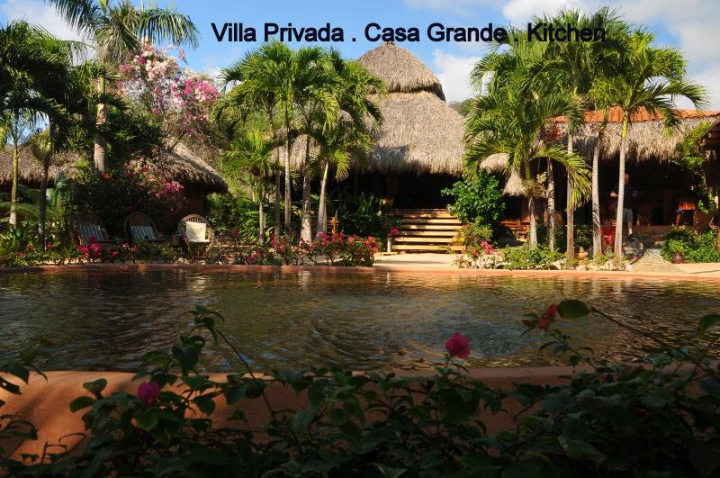 Casa Grande and Pool - Regalo del Mar Vacation Inn -- Rustic Luxury - Ixtapa - rentals