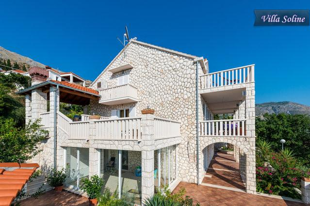 Apartment Soline for 2+2 guests  with pool - Image 1 - Dubrovnik - rentals