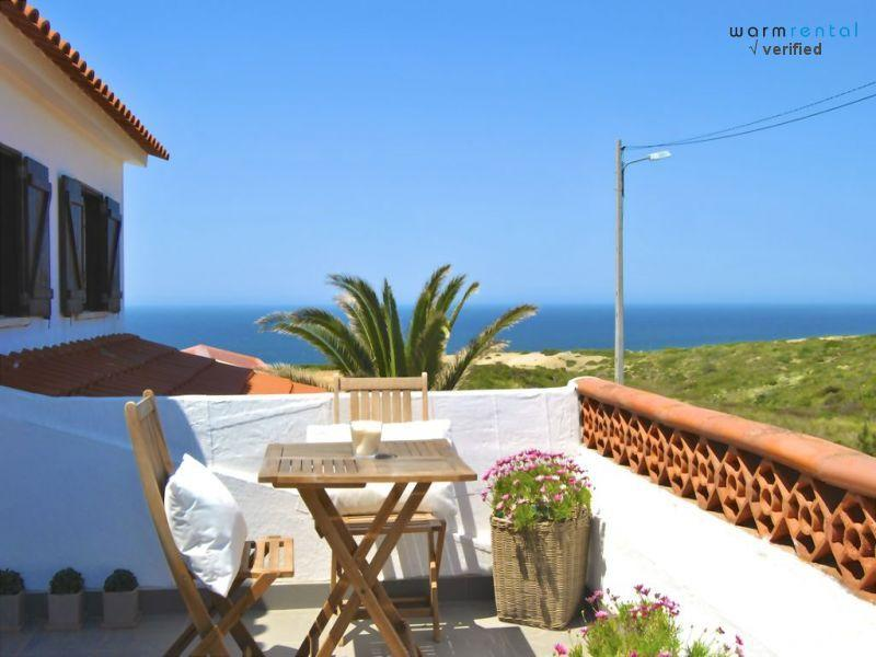 Balcony with View  - Gavotte House - Almograve - rentals