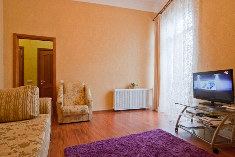 livingroom - Apartment with a view on Maidan - Kiev - rentals