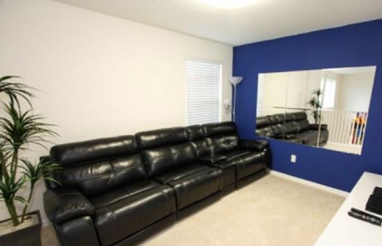 Sofa on Loft - VP6P2517DC Orlando 6 BR Pool Home VP6P2517DC - Orlando - rentals