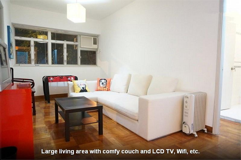 4 BR Apt near  Lan Kwai Fong and Central MTR - Image 1 - Hong Kong - rentals