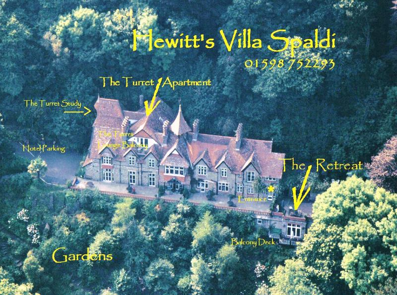 Hewitts Villa Spaldi Country House - Lynmouth Bay View Villa  Apartment - Lynton - rentals