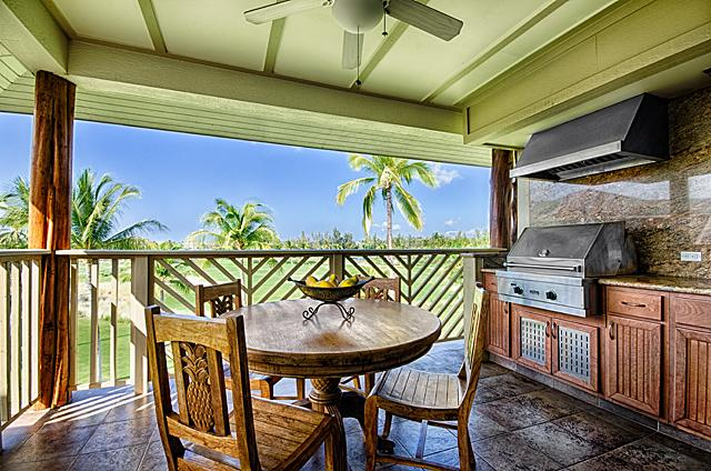 Enjoy Your Morning Coffee and the View from your Beautiful Lanai - Waikoloa Beach Villas Penthouse - Waikoloa - rentals