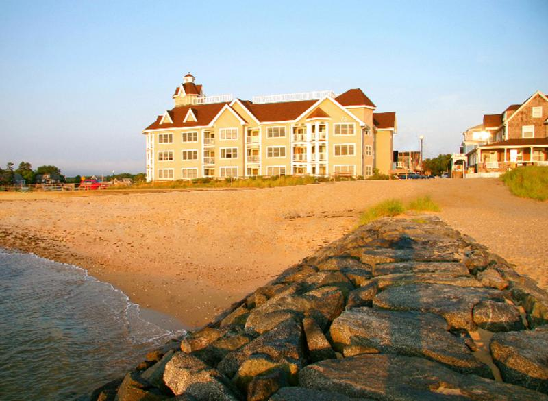 View of Condos from Beach - ZIMMB - Waterfront, Walk to Beach and Town - Oak Bluffs - rentals