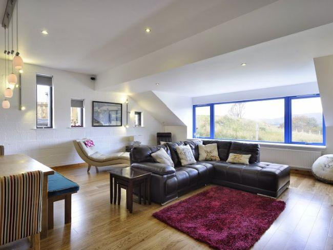 Lounge with woodburner and picture window - IN742 - Kingussie - rentals