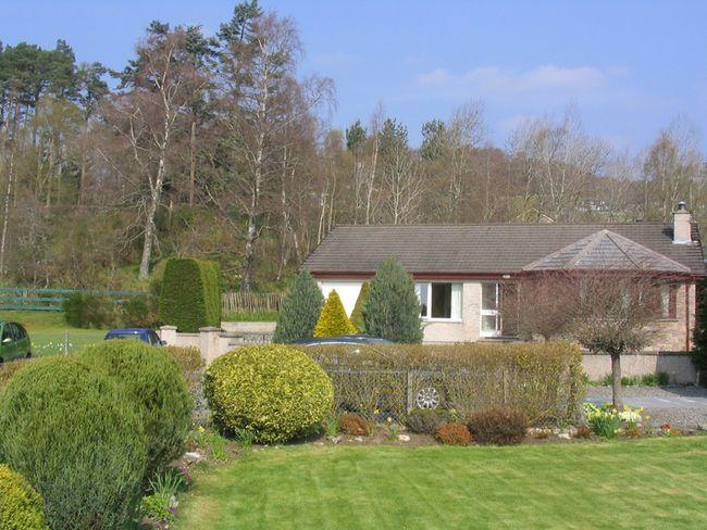 View towards the property - I200B - Newtonmore - rentals