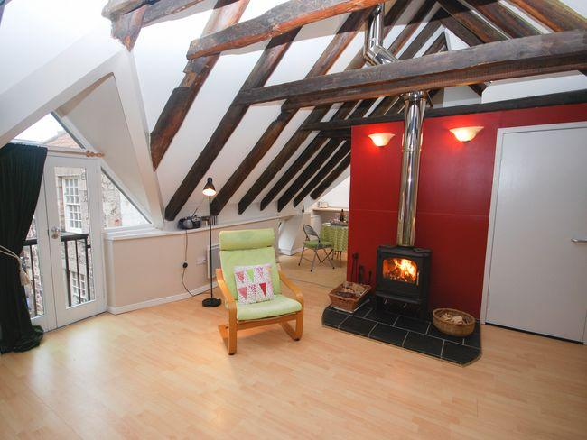 Lounge with woodburner - COUPE - Berwick upon Tweed - rentals