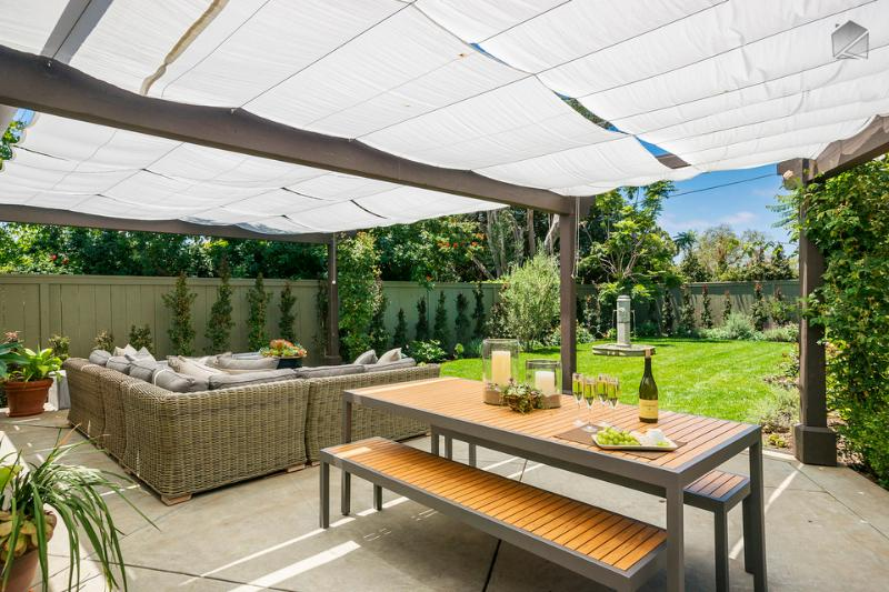 As beautiful as Montecito is, you may not want to leave this outdoor living space.  - Montecito home with amazing outdoor living spaces - Montecito Hideaway - Montecito - rentals