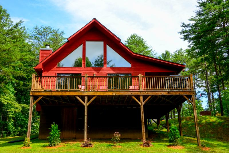 Feathers Rest Chalet - Image 1 - Murphy - rentals