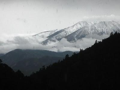 Spring storm as seen from the kitchen window - 1BR Peaceful,Sustainable Mountain Retreat - Salida - Salida - rentals