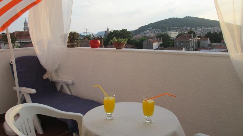 Panorama view on Old town and islands - Image 1 - Split - rentals