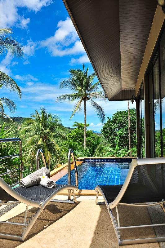 View from Terrace  - Naam Tok 2 bedroom Pool Villa - Koh Samui - rentals