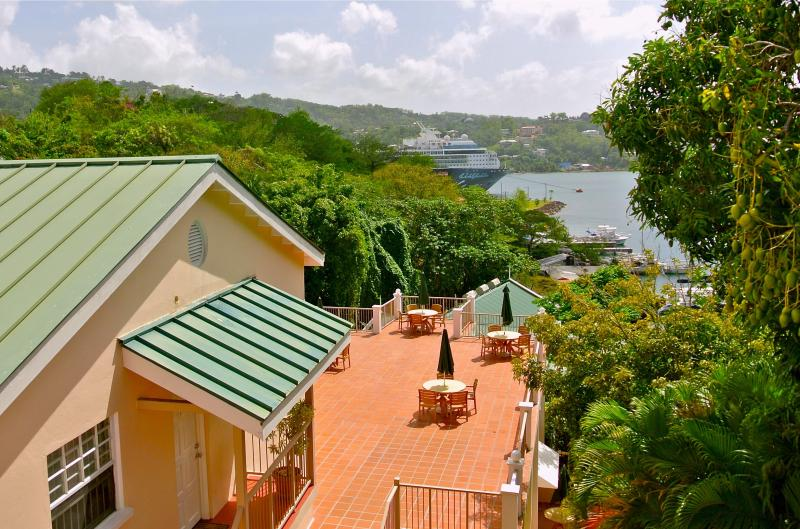 Poinsettia Villa Apartments Terrace - Poinsettia Villa Apartments - Castries - rentals