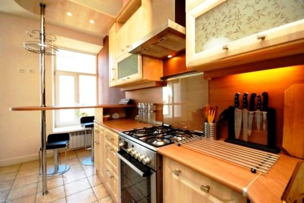 Kitchen - Luxury Spacious City Centre Living with IR-Sauna - Saint Petersburg - rentals