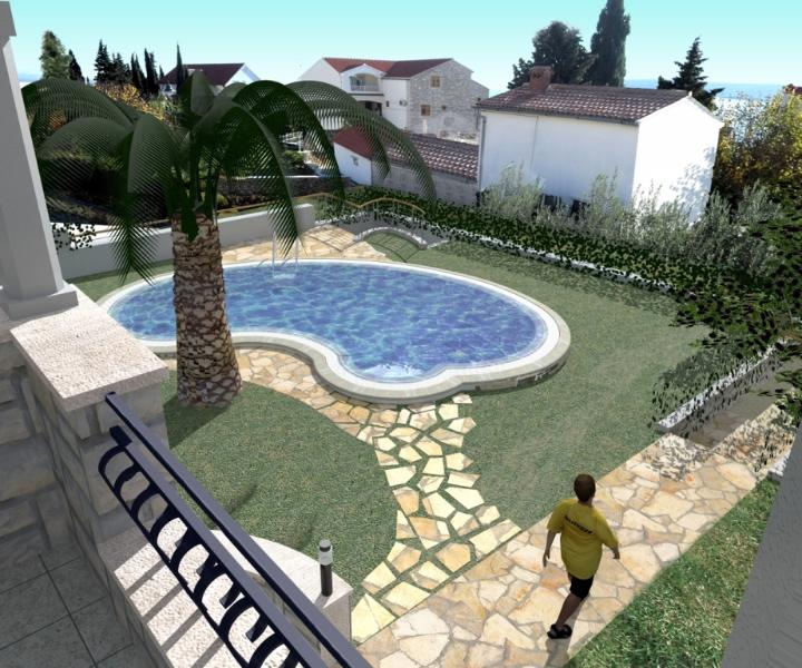 Villa with pool Diana 2 - Image 1 - Bol - rentals