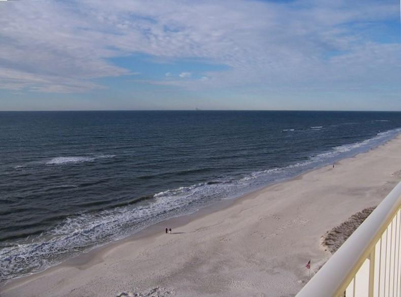 The Beautiful View from the Condo's 10th Floor Balcony! - Great Condo on the beach in Gulf Shores Alabama - Gulf Shores - rentals