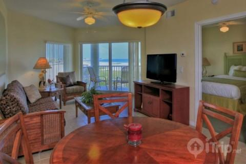 Gulf views from the living room and private balcony - 12000 - Sunset Vistas - Treasure Island - rentals