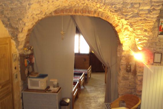 Inside of the holiday cottage(shelter) - Holiday cottage(Shelter), style troglodite, at the heart of one of the most beautiful medieval village of Gard - Vezenobres - rentals
