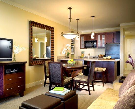 Living/Kitchen - 2b2b(8) Westin Kaanapali JUNE 14-21, 2014 $4295 - Lahaina - rentals
