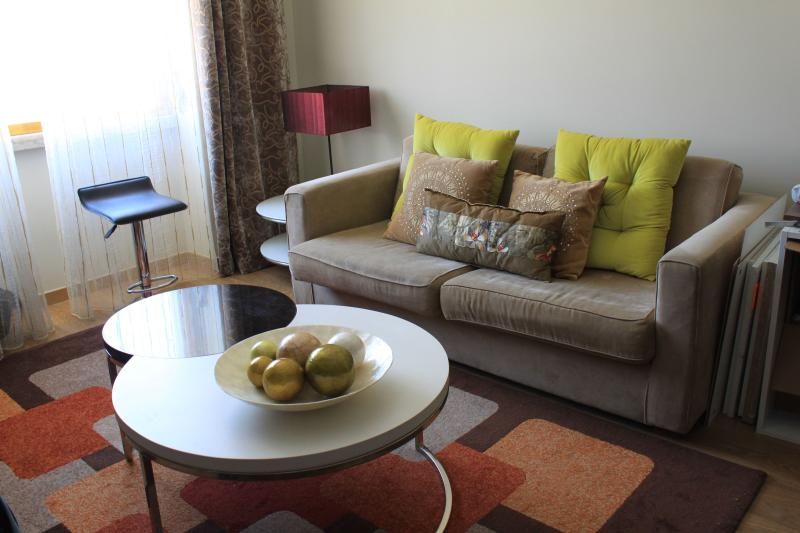 sofa bed and very good light (Lisbon Light) - Saldanha Prime 76 With Internet Great And New - Lisbon - rentals