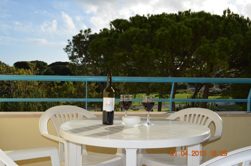 view from Balcony - 1 bedroomed Apt. FREE Wifi in 4* hotel, Acoteias - Olhos de Agua - rentals