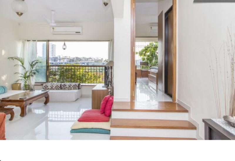 Living area - Spacious & Airy 2 Bed apartment with private balcony - Mumbai - rentals