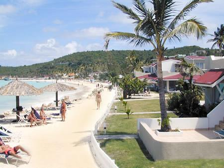 Beach - 1 min walk - Antigua Condo Studio - Dickenson Bay - rentals