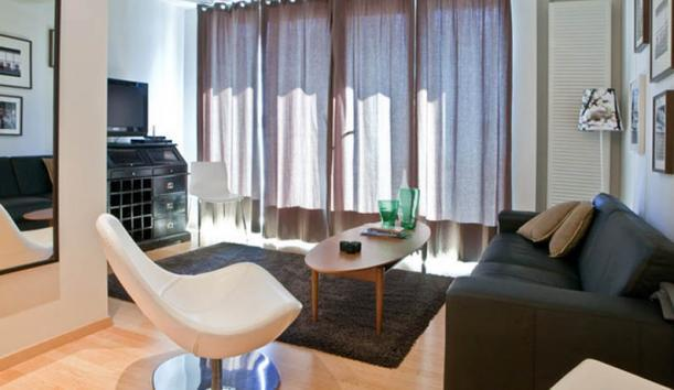 Living room - Luxury apartment in the very center - Reykjavik - rentals