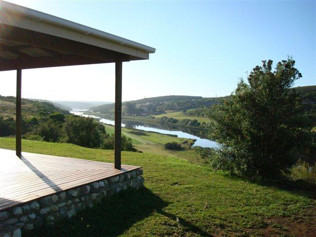 view from verandah - Holiday home on river, Garden Route, South Africa - Stilbaai - rentals