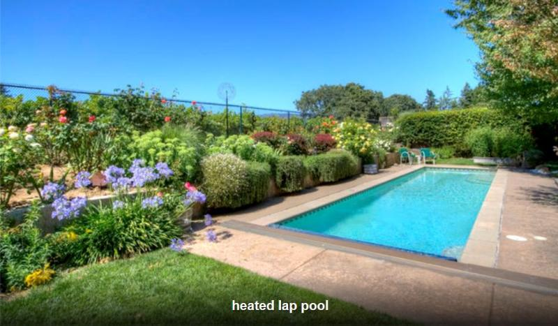 private pool w vineyard view - Perfect Getaway w. Heated pool - Napa - rentals