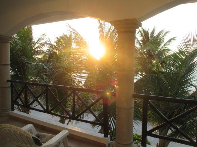 What a way to start the day! - Caribbean Beachfront Home, 2 Bedroom, 2 Bath - Majahual - rentals