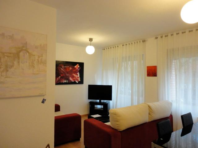 Comfortable living room with 2 sofas - Walk to Madrid's Historic Quarter - Madrid - rentals