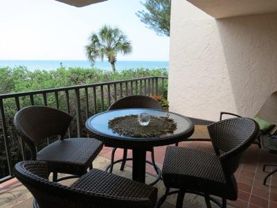 Lanai with a view - Water's Edge 105 South - Holmes Beach - rentals