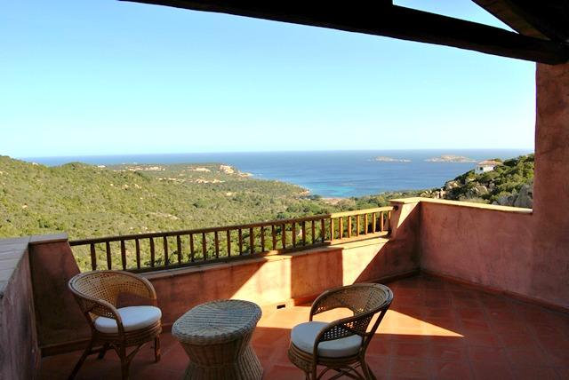 Veranda with panoramic view - Porto Cervo - Brand new apartment in residence - Porto Cervo - rentals