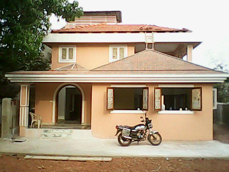 Front view - Sea Breeze Villas Paschim - 5 BR luxurious villa with private pool in Anjuna Goa - Anjuna - rentals