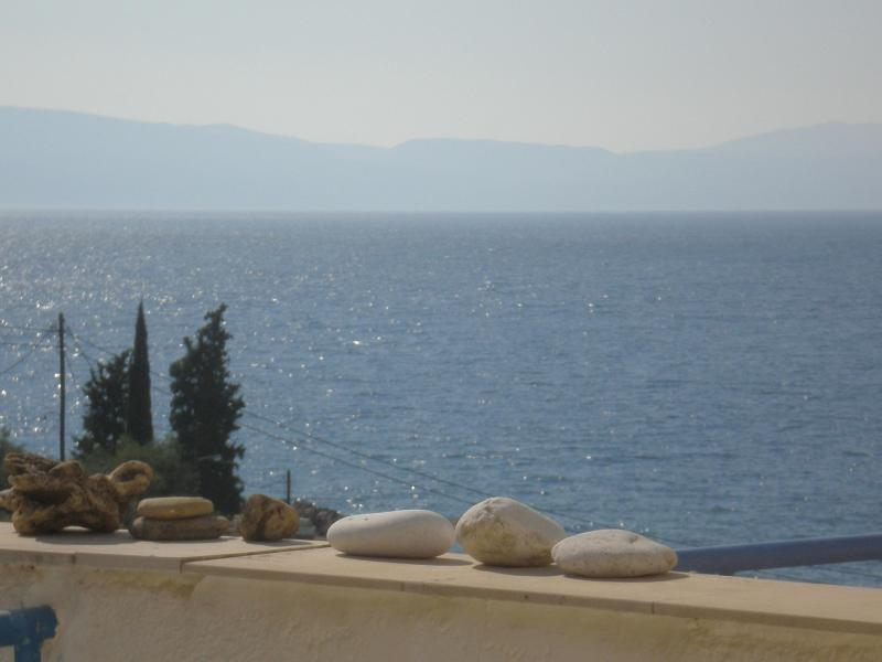 Beautiful double floor house  with view - Image 1 - Skala Oropou - rentals