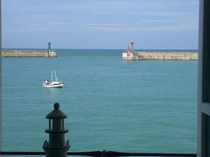 From the window - SEA FRONT, D-Day beaches, large & nice house 6p. - Port-en-Bessin-Huppain - rentals