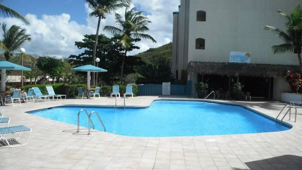 pool and pub - Location, Condodelsol, Sapphire Village, Red Hook - Cane Bay - rentals