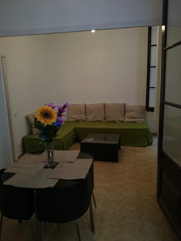 living room  - Large & spacious aparment, nice style & location! - Barcelona - rentals