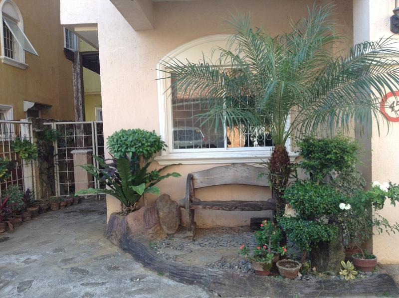 Sitting Area by the front of the Townhouse - Three bedroom Townhouse in Uptown Cebu - Cebu City - rentals